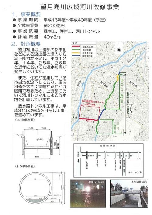 『北海道インフラツアー』の取組と『望月寒川放水路トンネル計画』!⑪