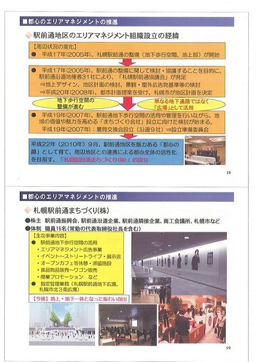 札幌市 都心まちづくりの取組!⑬