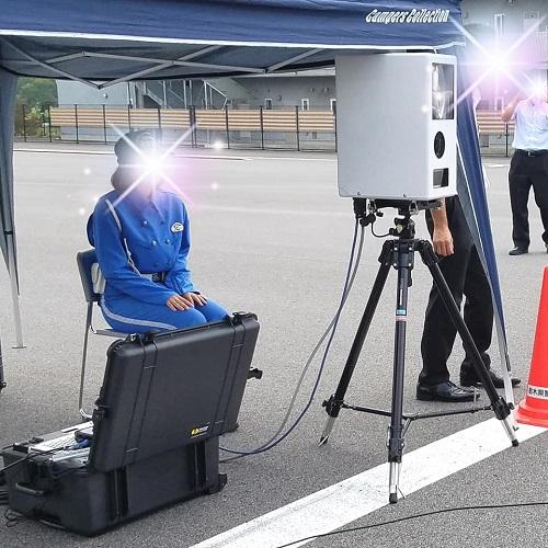 栃木県警察本部「可搬式オービス」と「GT-R」!④