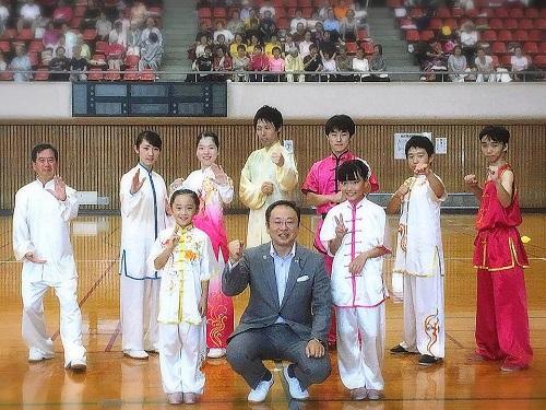 とちぎスポーツフェスタ<第29回 栃木県武術太極拳交流大会>!②