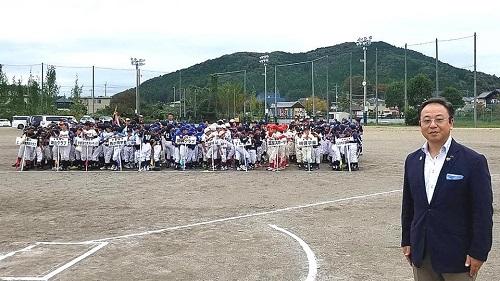 宇都宮西部地区学童軟式野球交流会<第68回 親善大会 閉会式>!①