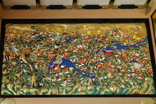 名古屋城本丸御殿の欄間