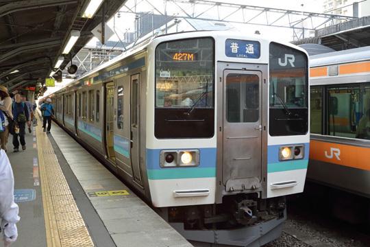 中央本線松本行き@高尾駅