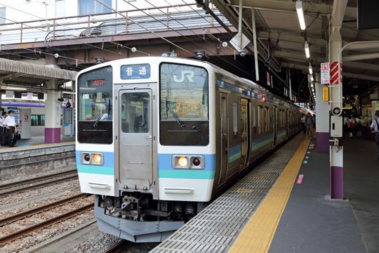 中央本線松本行き@甲府駅