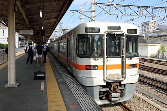 身延線富士行き@甲府駅