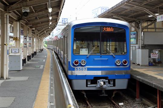 大雄山線@小田原駅