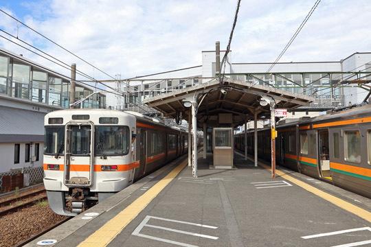 JR掛川駅に到着