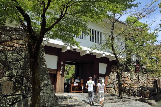 犬山城鉄門