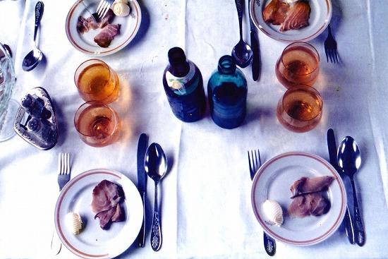 ⑱食堂車の朝食