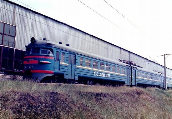 ⑲ウランウデ郊外電車