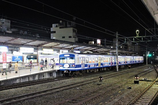 s-㉓夜の三島駅