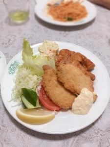 180817_01RN白身魚とチキンソテー