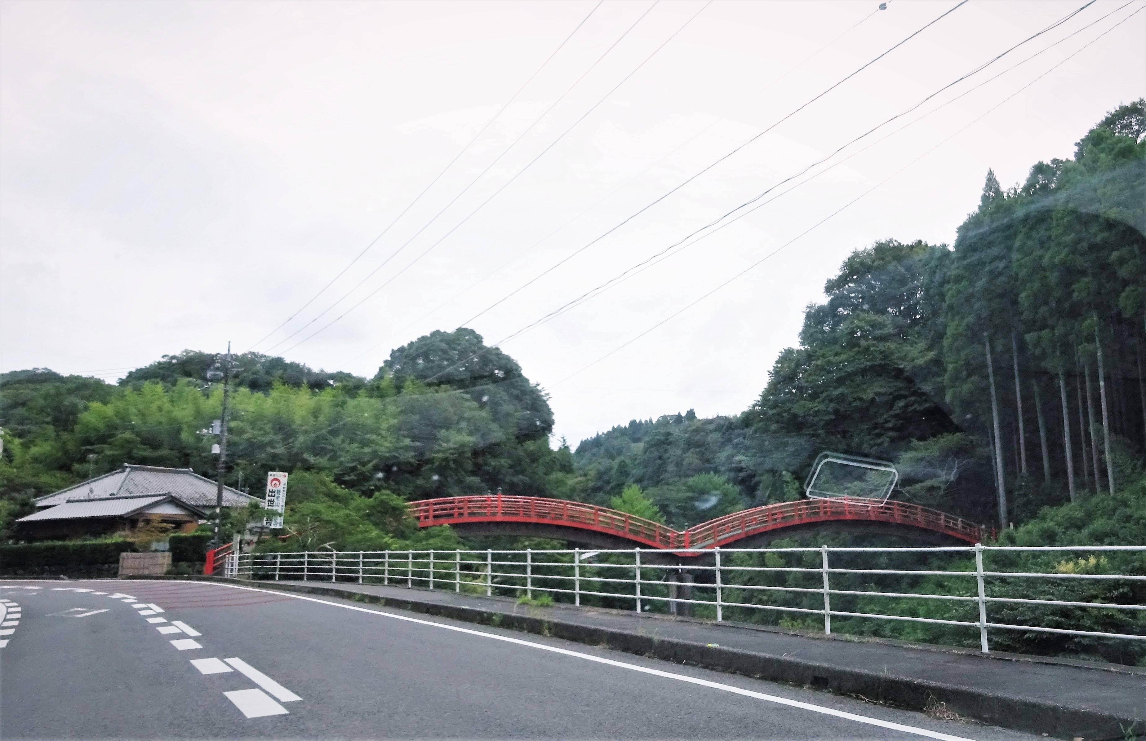 ①◎出世観音への太鼓橋