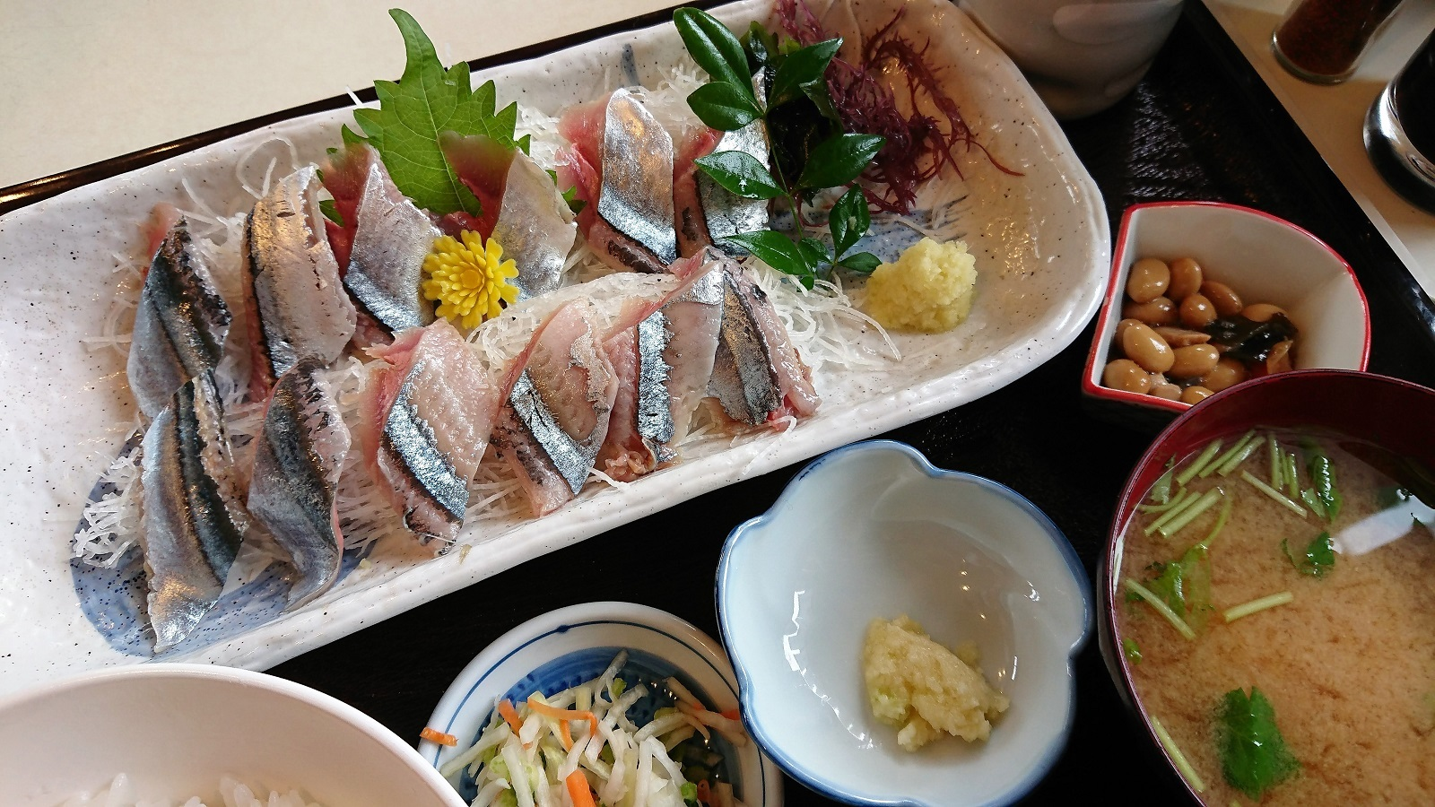 ◎秋刀魚のお刺身