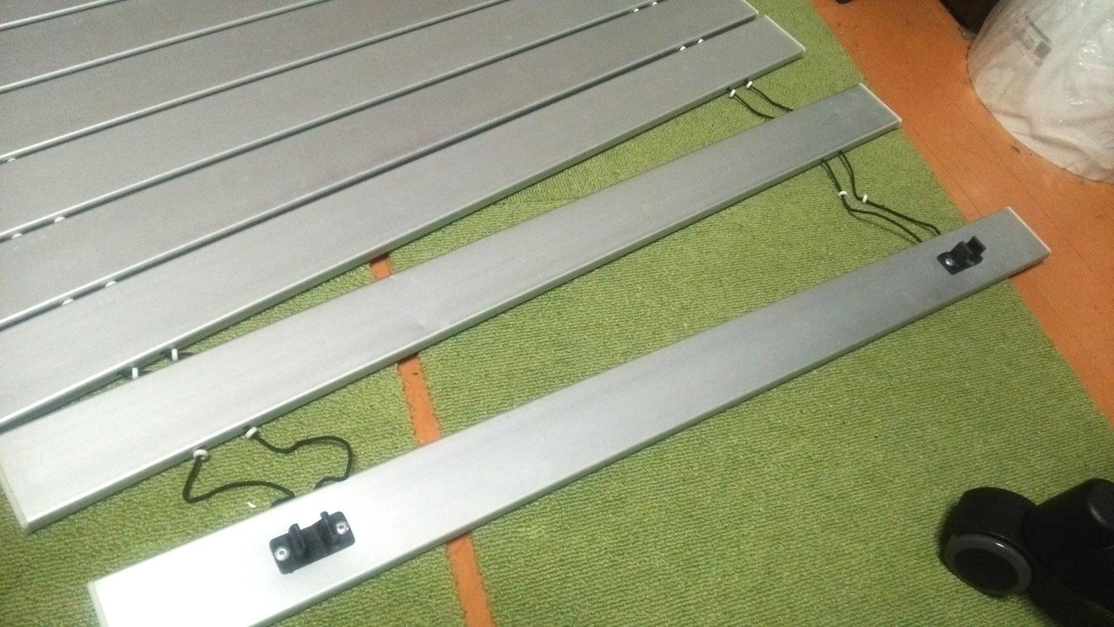 キャンプテーブル補修