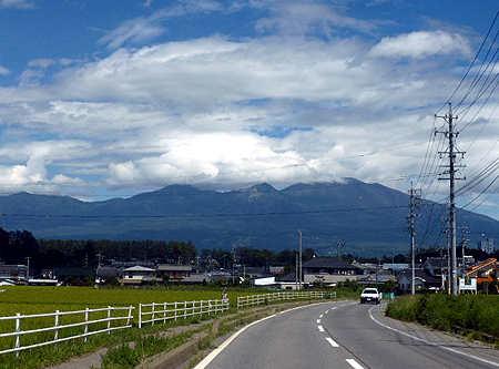 816佐久平からの浅間山