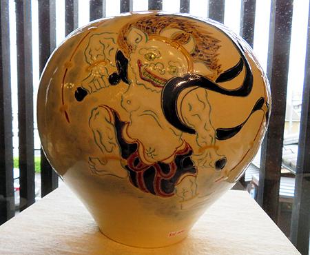 910陶泉窯雷神