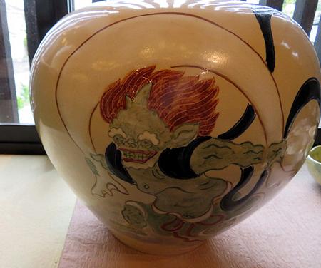 910陶泉窯風神