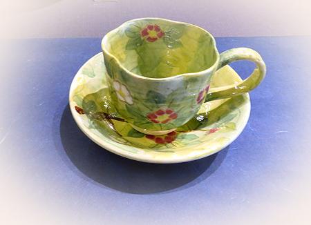 910陶泉窯デミタスカップ