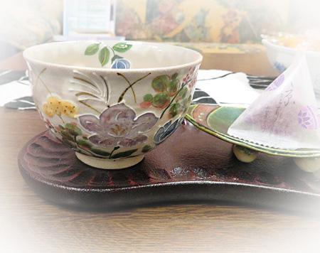 929秋草 お茶碗