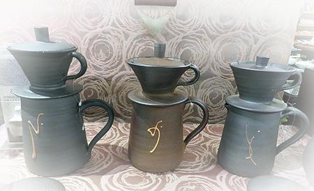 1012陶器ドリップセット