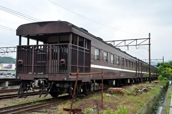 元SL山口号12系客車(2018年6月10日撮影)