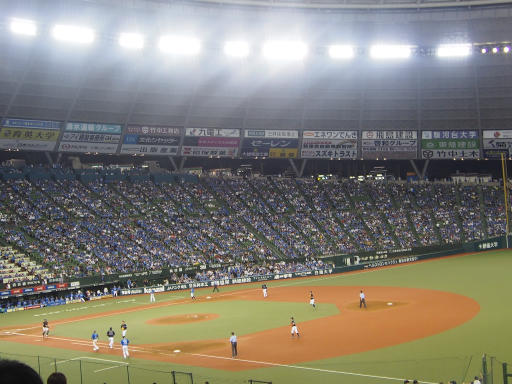 20180816・野球観戦と散歩2-22・結局1-1引き分け