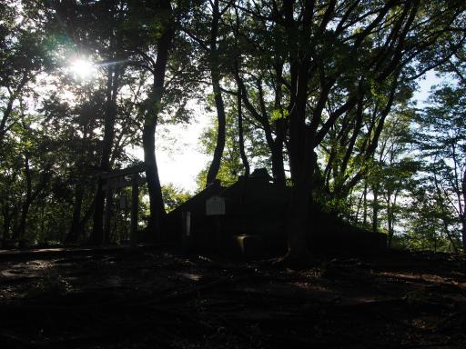 20180922・多磨霊園空12・浅間山公園山頂