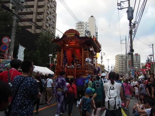 20181007・ところざわ祭5-10・旭町の山車