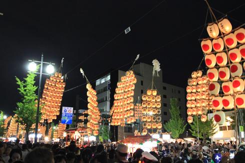 秋田竿灯祭り2018(2)-2