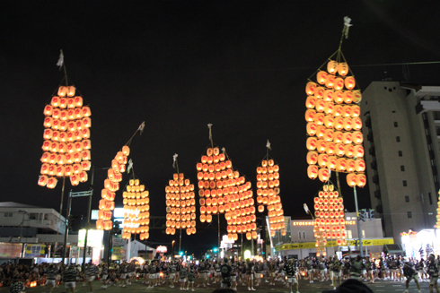 秋田竿灯祭り2018(2)-4