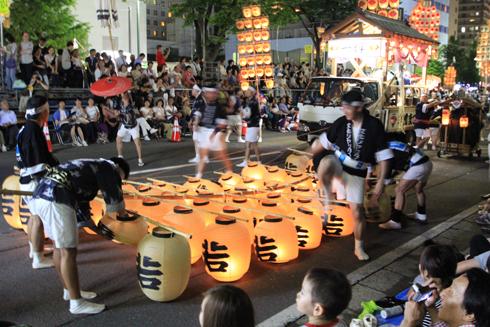 秋田竿灯祭り2018(2)-11