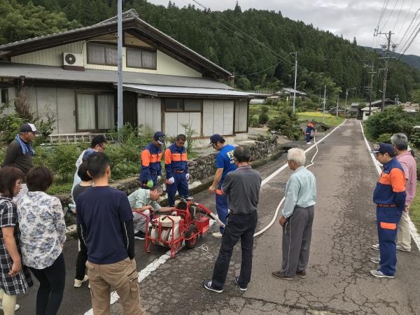 180902-番田区の防災訓練