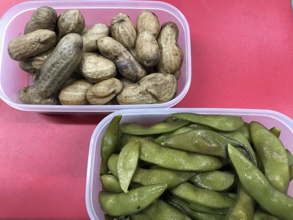 180926-枝豆と落花生