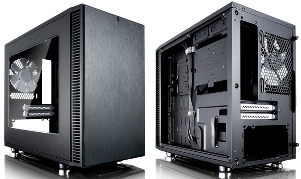 Fractal Design Define Nano S - Black - Window version