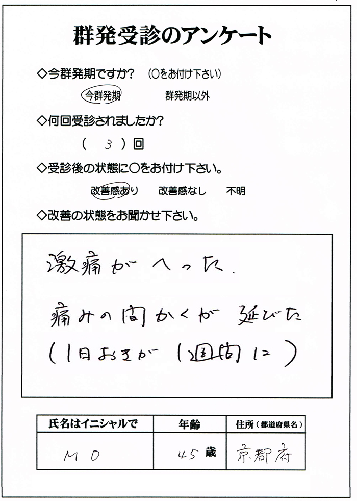 群発頭痛,完治,京都,大阪,神戸,奈良
