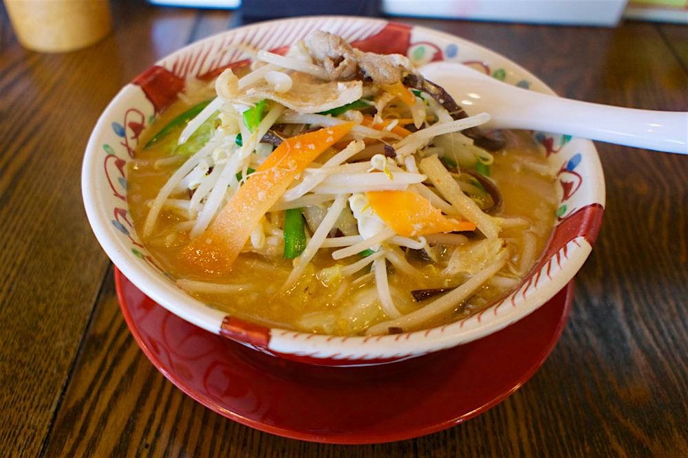 麺 みの作 インターパーク店@宇都宮市インターパーク みそ野菜ラーメン