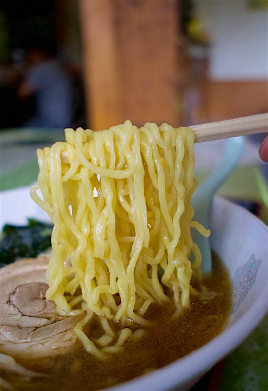 中華料理 桃蘭@塩谷町玉生 麺