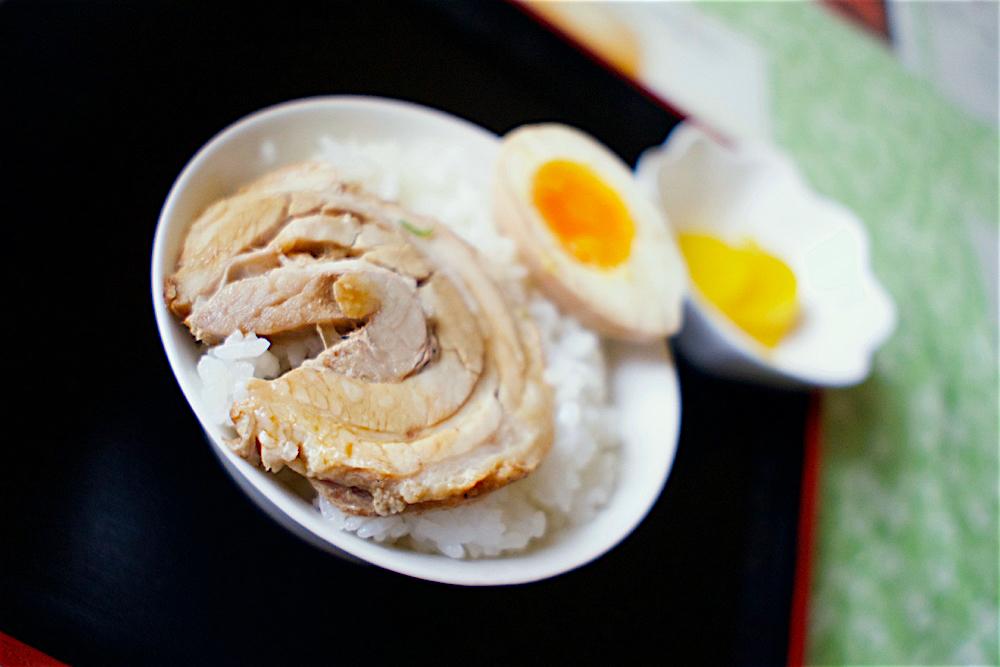 中華料理 桃蘭@塩谷町玉生 アンディー特製チャー玉丼