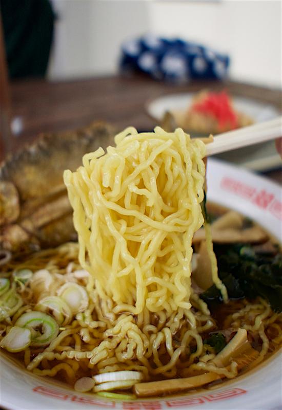 鮎の店 篭岩@塩谷町船生 麺