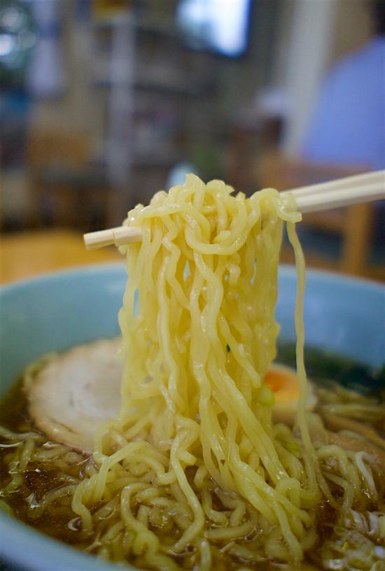 大内食堂@塩谷町田所 麺