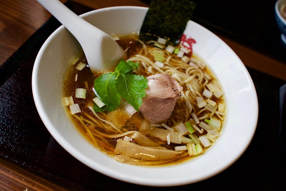 中華ソバ俊麺製麺所@宇都宮市西川田本町 かさね醤油ソバ