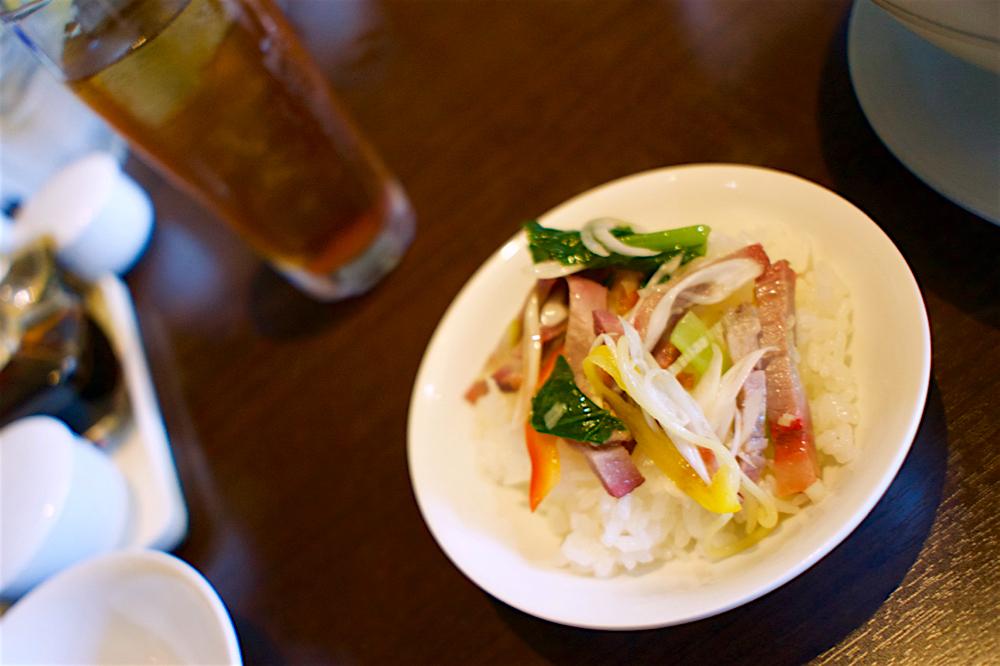 China Kitchen 胡宮@宇都宮市元今泉 アンディー特製チャーシュー丼