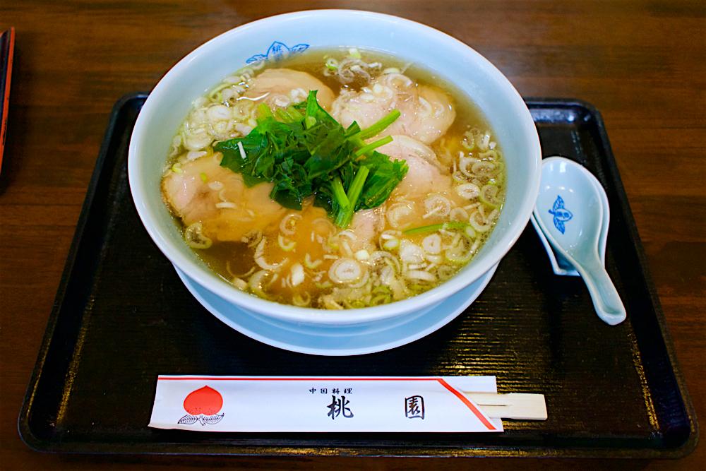 桃園@野木町丸林 叉焼麺
