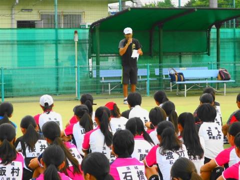 「中学生ソフトテニス大会」①