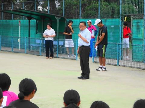 「中学生ソフトテニス大会」②