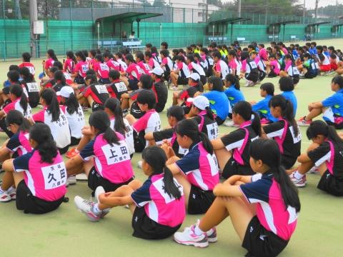 「中学生ソフトテニス大会」⑥