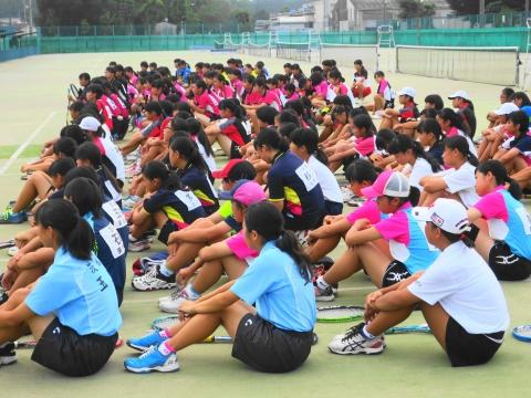 「中学生ソフトテニス大会」⑦