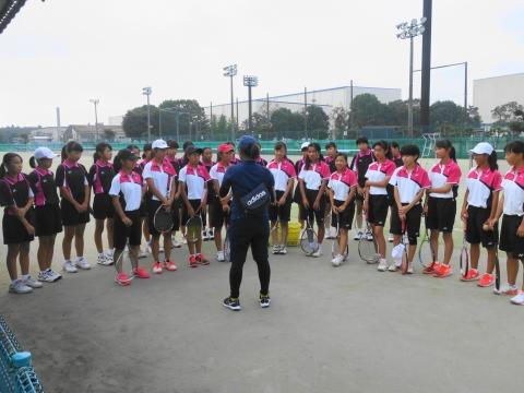 「中学生ソフトテニス大会」⑧