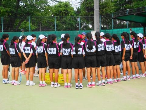 「中学生ソフトテニス大会」⑨